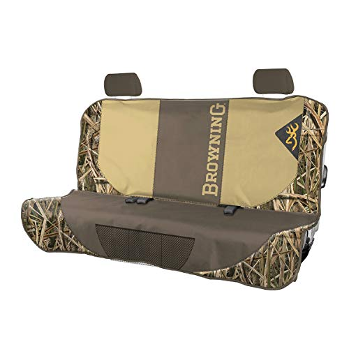 Browning Camo Bench Dog seat cover, Shadow Grass Blades