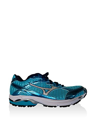 Mizuno Zapatillas de Running Wave Laser Wos Turquesa / Plateado / Azul EU 37 (US 7)