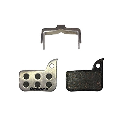 Gekors Lightweight Semi-Metallic Bicycle Disc Brake Pads with Aluminum Back for SRAM Rival 22,Force 22,Red 22,S-700,1 Pair