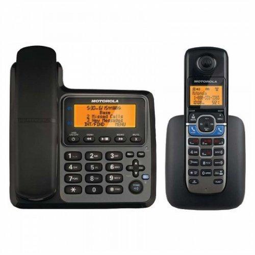 Motorola L702CBT DECT 6.0 Corded/Cordless 2-Handset Phone...