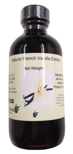 French Vanilla Extract, Natural 8 oz by (Pumpkin Shortbread Cookies)
