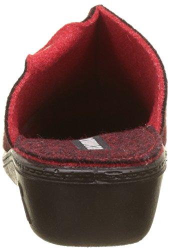 Romika Damen Romilastic 384 Pantoffeln Rot (Rot (400))