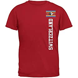 World Cup Switzerland Red Adult T-Shirt