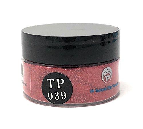 (TP Dipping Powder 1 oz. Advanced polymer dip powder color (TP39 Red Sparkle))