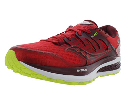 Saucony Triumph ISO 2 Running Mens Shoes Size Red