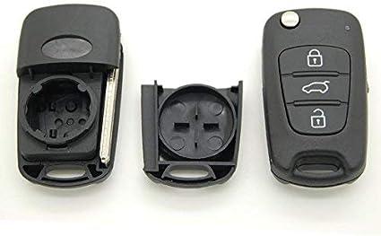 Hyundai Schutzhülle Gehäuse 3 Tasten Fernbedienung Für I30 Ix30 Ix35 Motorrad
