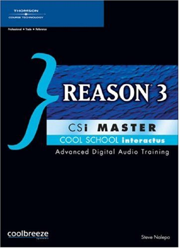 Reason 3 CSi Master - Csi Master Rom Cd