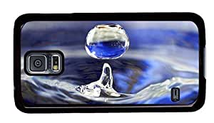 Hipster Samsung Galaxy S5 Case brand new Waterdrop PC Black for Samsung S5