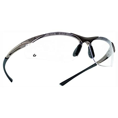 Advanced Bolle Contour CONTPSI Polycarbonate Clear Safety Glasses  Pack of  1  --  Amazon.co.uk  DIY   Tools 35a41fd42619