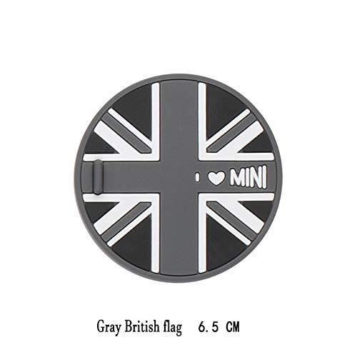 FASHLADY 1pcs Silikagel Auto Cup Anti-Rutsch-Pad Matte f/ür BMW Mini Cooper R56 R55 R50 Clubman Ryman R60 R61 F55 F56 Zubeh/ör 65mm