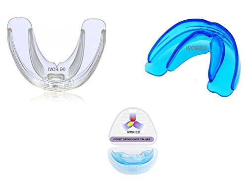 IVORIE Oral Tooth Orthodontic Alignment Trainer Appliance Mouthpiece 1pcs (SOFT & HARD)
