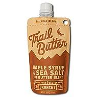 TRAIL BUTTER Maple Syrup & Sea Salt – Paleo Nut Butter Blend - 4.5 oz - 6 pack