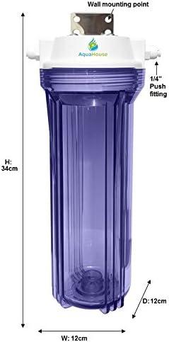 AquaHouse gran sedimento de l/ámpara UV sistema de pre-filtro para grandes l/ámparas UV 25W 32W 55W con 3//4accesorios BSP