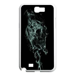 Skull Day of the Dead Hard Rubber Phone Cover Case For Samsung Galaxy Note 2 Case GHLR-T395628