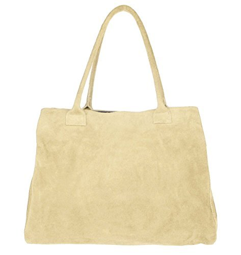 OBC Only-Beautiful-Couture - Bolso de asas para mujer Beige beige 39x30x17 cm (BxHxT) beige