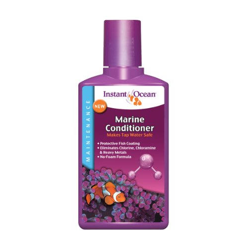Instant Ocean Marine Conditioner 8.45 fl oz, Makes Tap Water Safe for ()