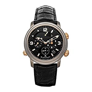 Best Epic Trends 4154nbxPEuL._SS300_ Blancpain Leman Mechanical(Automatic) Black Dial Watch 2041-12A30-64B (Pre-Owned)