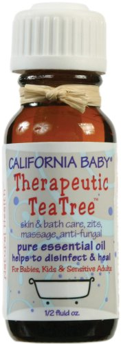 California Baby Pure Essential Oil - Therapeutic Tea Tree, .5 oz