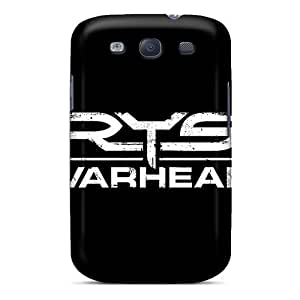 New Snap-on FlowerCase Skin Case Cover Compatible With Galaxy S3- Crysis Logo