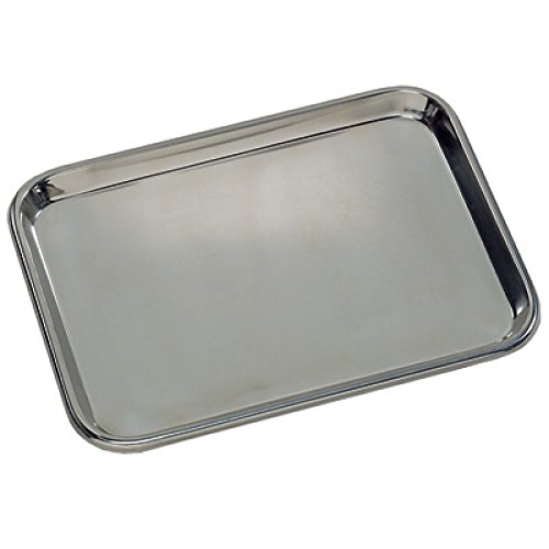 Medegen Medical Products 80210 Instrument Tray, Mayo-Style, Regular, 21-3/8'' x 16-1/2'' x 3/4''