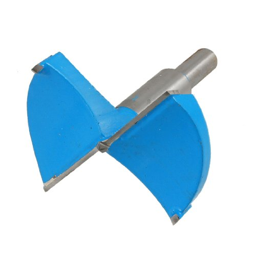 Uxcell Hinge Boring 70mm Cutting Drill Bit, Blue Gray -
