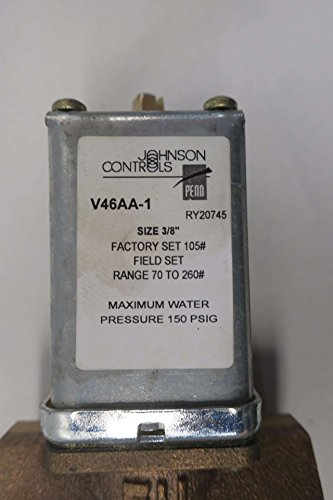JOHNSON CONTROLS V46AA-1 WATER REGULATING VALVE 150PSI 3/8 IN NPT D571114 by Johnson Controls (Image #5)