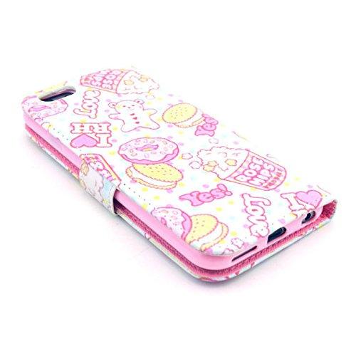 Painting Art Design Beutel PU Leder Stehen Flip Schutzhülle Hülle Tasche Schale Case Cover für Apple iPhone 6 4.7 Zoll (14#)