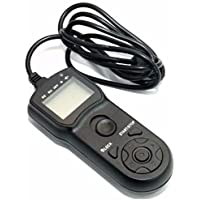 JJC TM-B Wire Multi-Function LCD Timer Remote Control For Nikon D4s F5 D4 D800 D300s D3s D3x D700 D3 D300 D2Xs D2x D200 F90x F6 Replaces Nikon MC-30