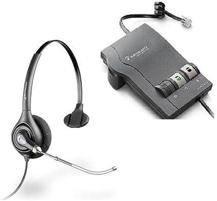 Plantronics Combo M22 Amplifier HW251N Noise-Canceling Headset AC Adapter
