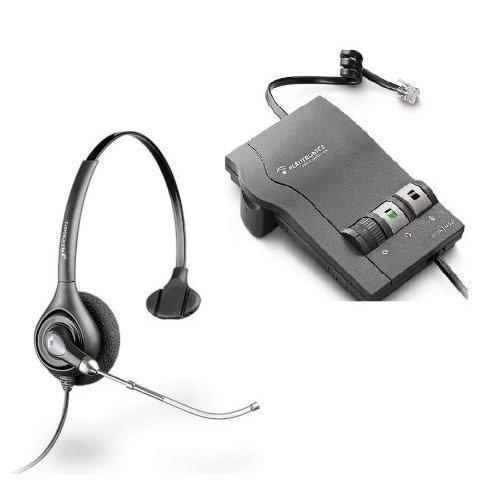 (PLANTRONICS Vista M22 Amplifier with SupraPlus H251 Voice Tube Headset)