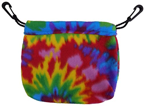 (Sleeping Pouch for Sugar Gliders and other small pets (Tie Dye))