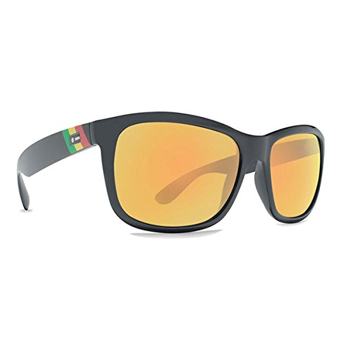 Dot Dash Poseur Rasta Gold Chrome Sunglasses, One Size