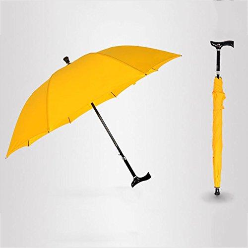 da3b702ab919 Amazon.com: Moolo Adjustable Old Man Walking Stick Umbrella Cane ...