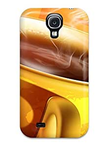 Excellent Design 3d Coffee Cup Case Cover For Galaxy S4