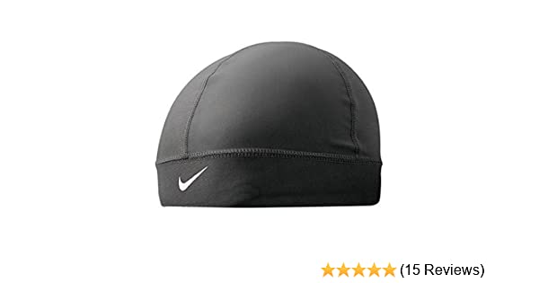 f12d0fd3d5353 Amazon.com   Nike Pro Combat Youth Banded Skull Cap (Black