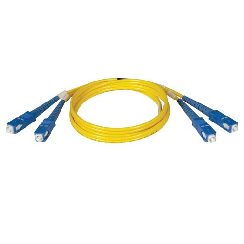 Tripp Lite Duplex Singlemode 8.3/125 Fiber Patch Cable (SC/SC), 10M (Fddi Single)