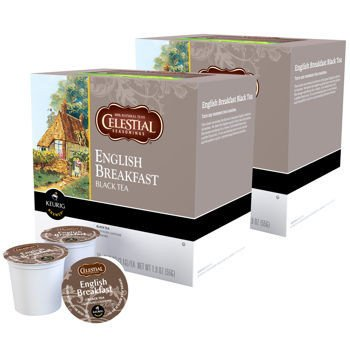 Celestial Seasonings English Breakfast Black Tea Keurig K-Cups, 180 - English Celestial Seasonings Breakfast