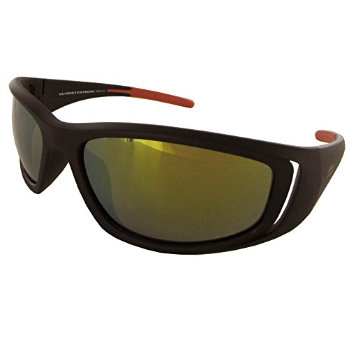 Vuarnet Extreme Unisex VE5001 Athletic Plastic Sunglasses, Matte - Vuarnet