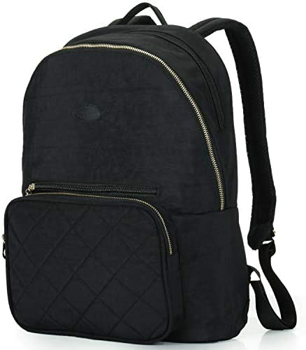 Daypack Backpack Compartment Trolley Quilted
