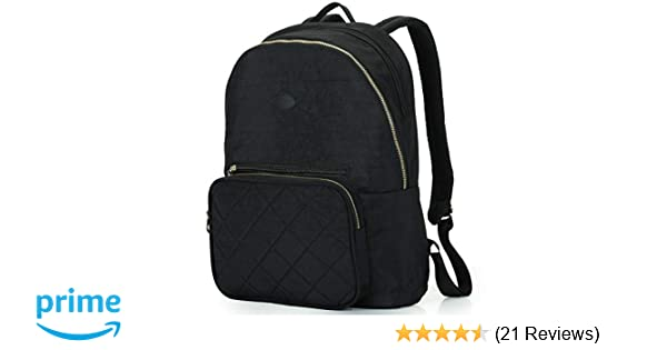 Amazon.com  Nylon Casual Travel Daypack Backpack with 13 Inch Laptop  Compartment a32fde8f205b7