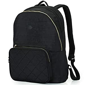 Amazon.com  Nylon Casual Travel Daypack Backpack with 13 Inch Laptop ... a21da80382398