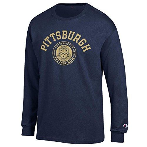 - Pitt Panthers Long Sleeve Tshirt Seal Navy - XXL