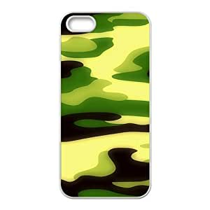 Camouflage pattern Phone Case for iPhone 5S(TPU)
