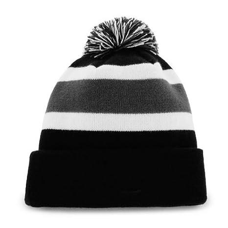 2f5be73a121 Amazon.com    47 Kansas City Royals Black Cuff Breakaway Beanie Hat with  Pom Pom - MLB Cuffed Winter Knit Toque Cap   Sports   Outdoors