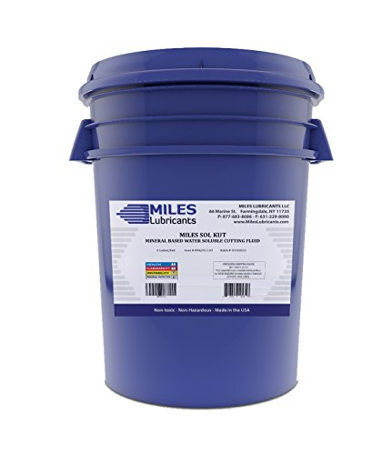Miles Sol Kut Mineral Based Water Soluble Cutting Fluid 5 Gal. Pail by MILES LUBRICANTS