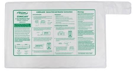 """Smart Caregiver Ghost Cord Cordless Bed Pressure Pad 20"""" x 30"""""""