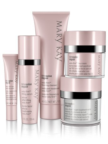 New Mary Kay TimeWise Repair Volu-Firm 5 Product Set Adv Skin Care Full Size (Full Size) by Mary Kay