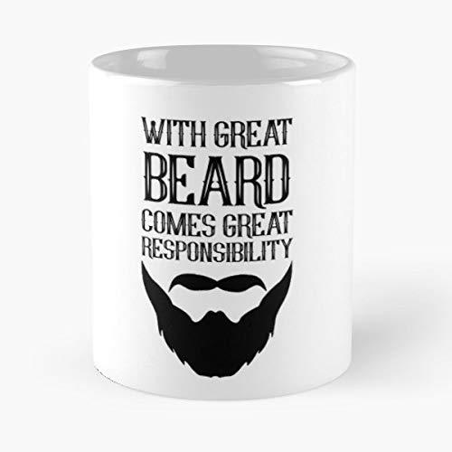 Beard Man Men Manly Great Gifts -11 Oz
