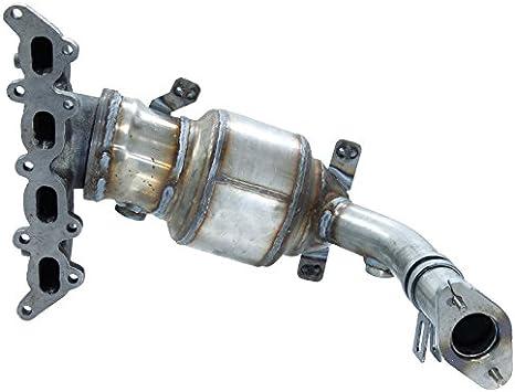 ECD Germany KAT-056 Catalizzatore Impianto di Scarico Kit di Montaggio per Auto