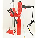 """4"""" Z-1WS CORE DRILL by BLUEROCK ® Tools 2 SPEED W/ STAND CONCRETE CORING WITH: 1"""",2"""",3"""",4"""" DIAMOND WET CORE BITS"""